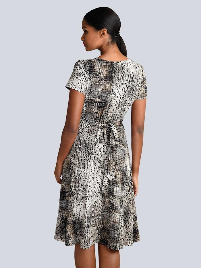 Kleid im Animal allover Print