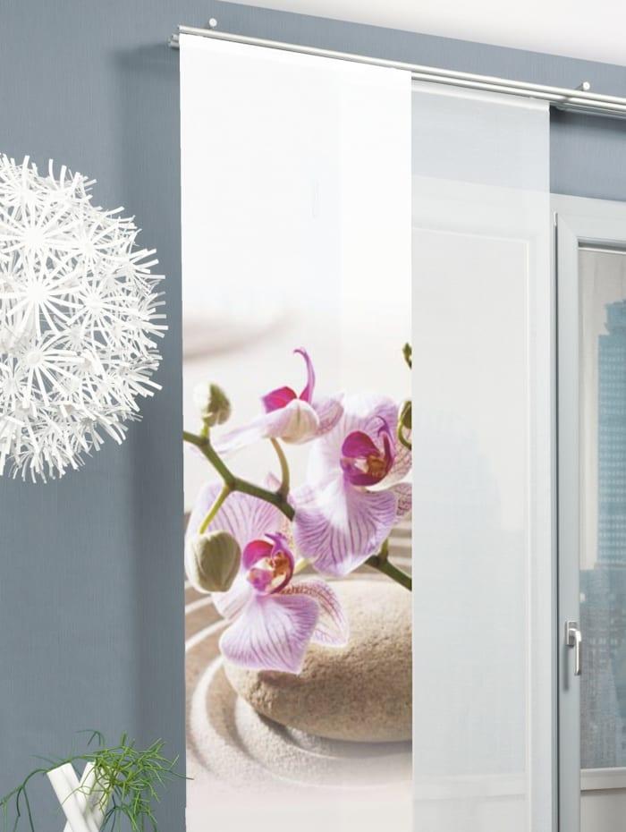 Home Wohnideen Panneau japonais 'CRAWLEY', Fuchsia