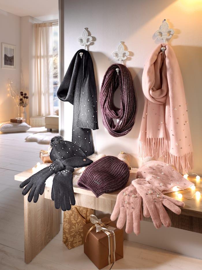 Sjaal met fraai breipatroon