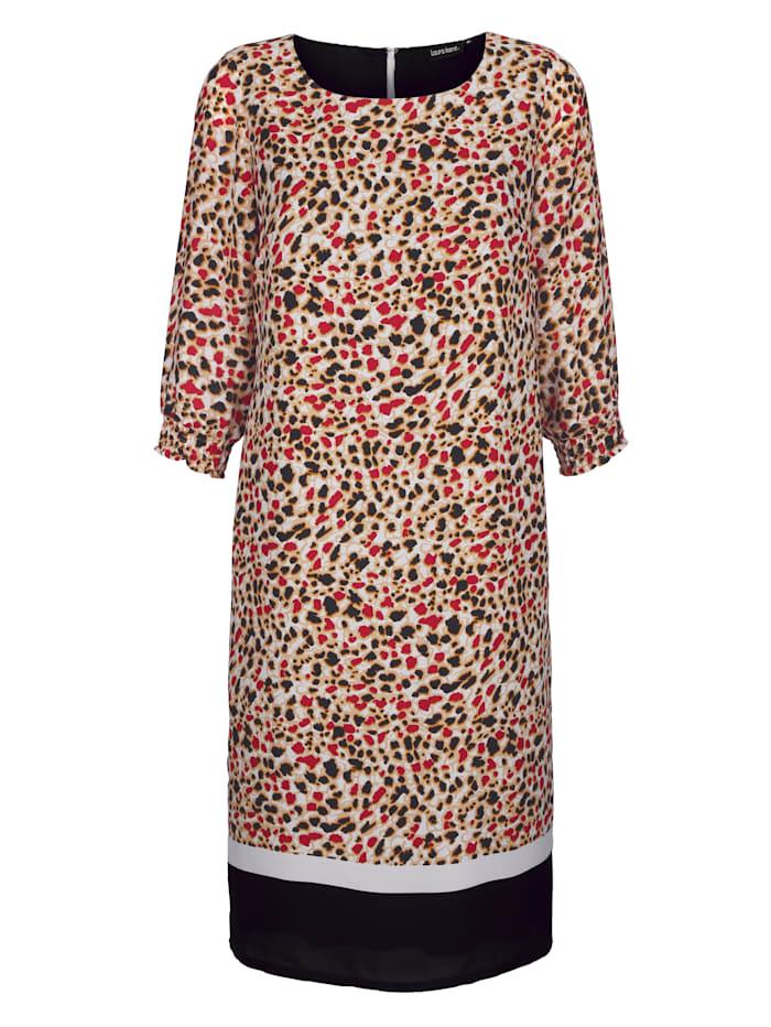 Kleid im Tierfell-Dessin