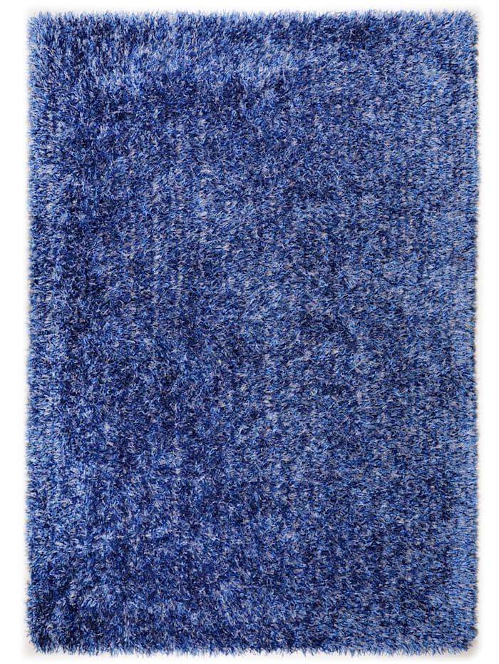 Theko®die Markenteppiche Hochflorteppich Horst, Blau