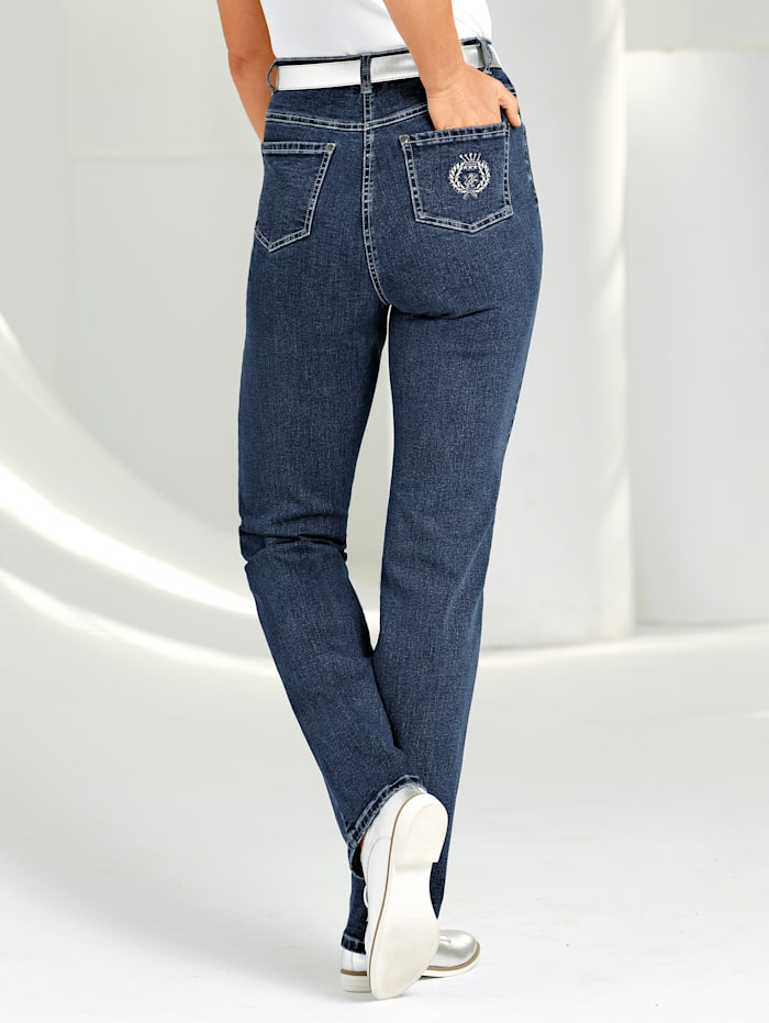 Paola Jeans in comfortabel model, Blauw
