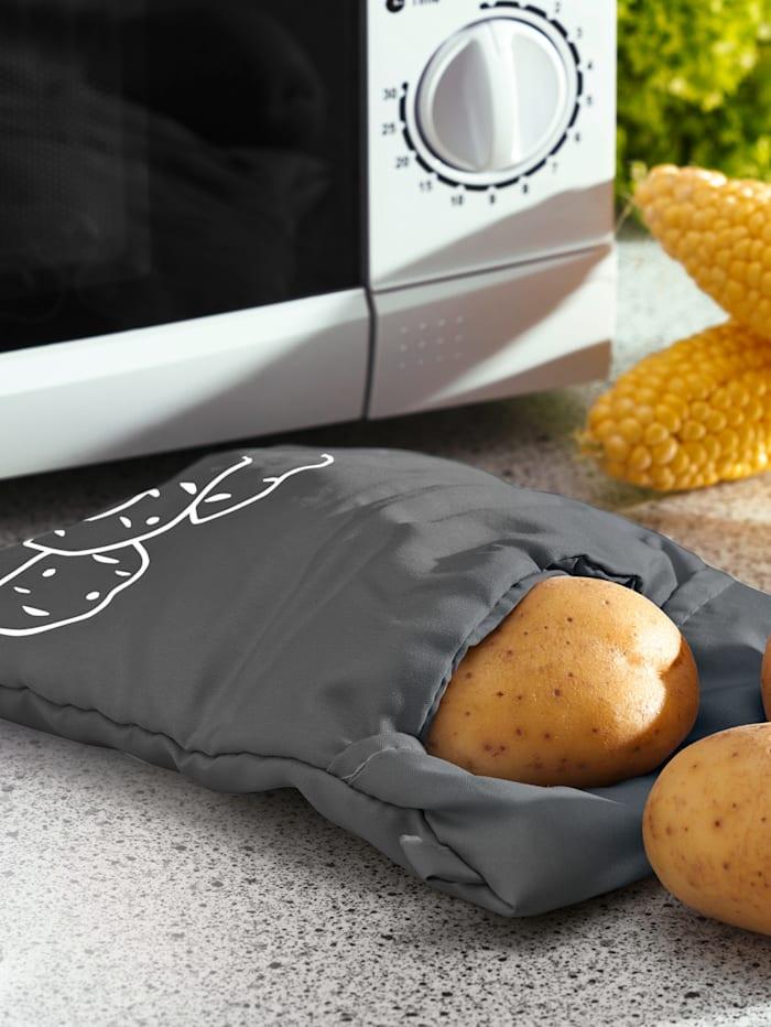 Pytlík na dušení brambor v mikrovlnce