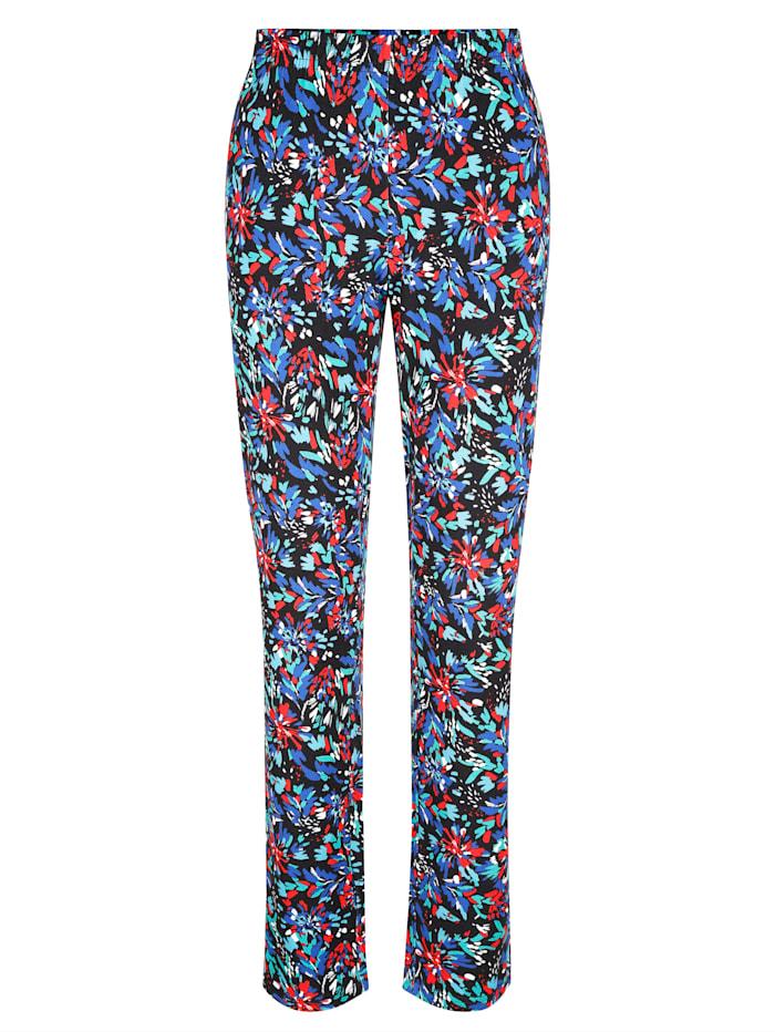 MIAMODA Hose aus grafischem Druck, Multicolor