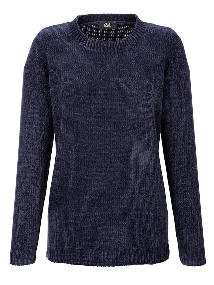 Pullover aus Chenillegarn