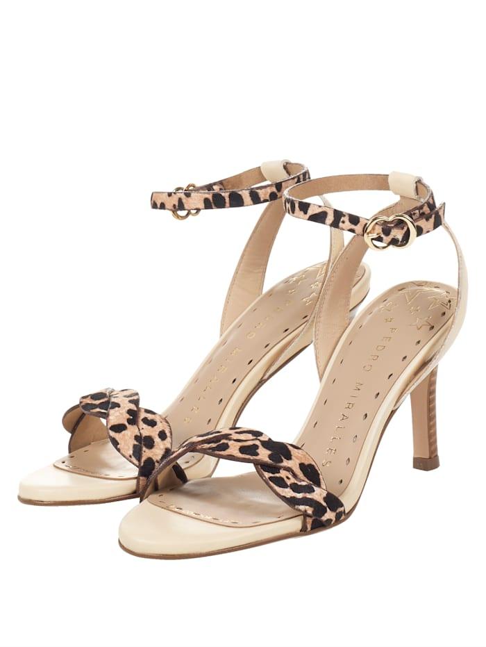PEDRO MIRALLES Sandalette, Nude