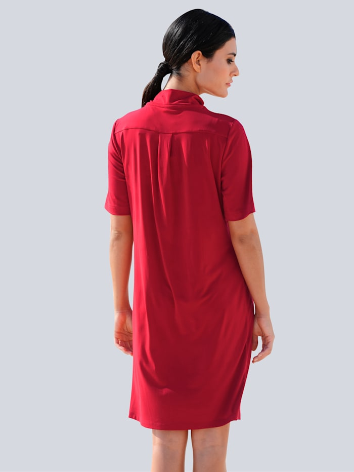 Jerseykleid mit Reißverschluss