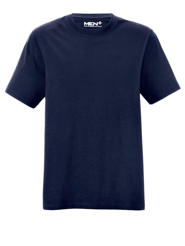Men Plus T-shirt, Marinblå