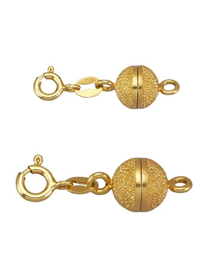 2tlg. Set in Silber 925, vergoldet, Gelbgoldfarben