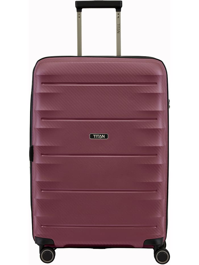 Titan Highlight 4-Rollen Trolley 67 cm, merlot