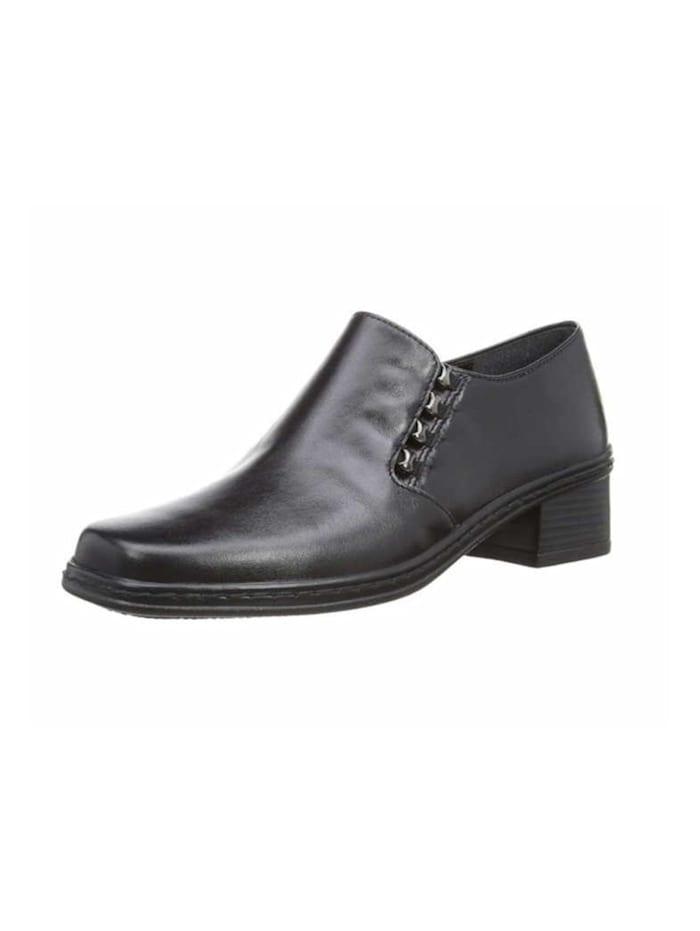 Gabor Damen Slipper in schwarz, schwarz