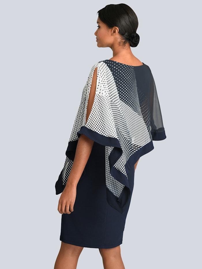 Kleid mit elegantem Chiffon