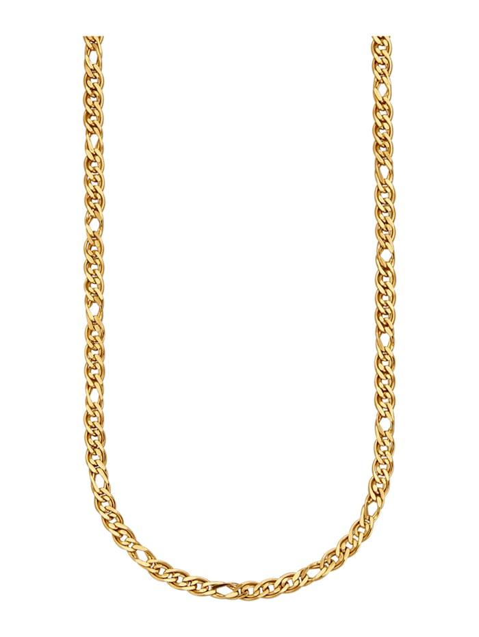 Halsband - fantasilänk, Guldfärgad