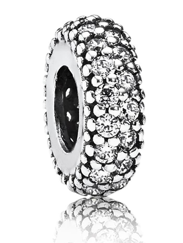 Pandora Charm -Pavé Inspiration- 791359CZ, Weiß