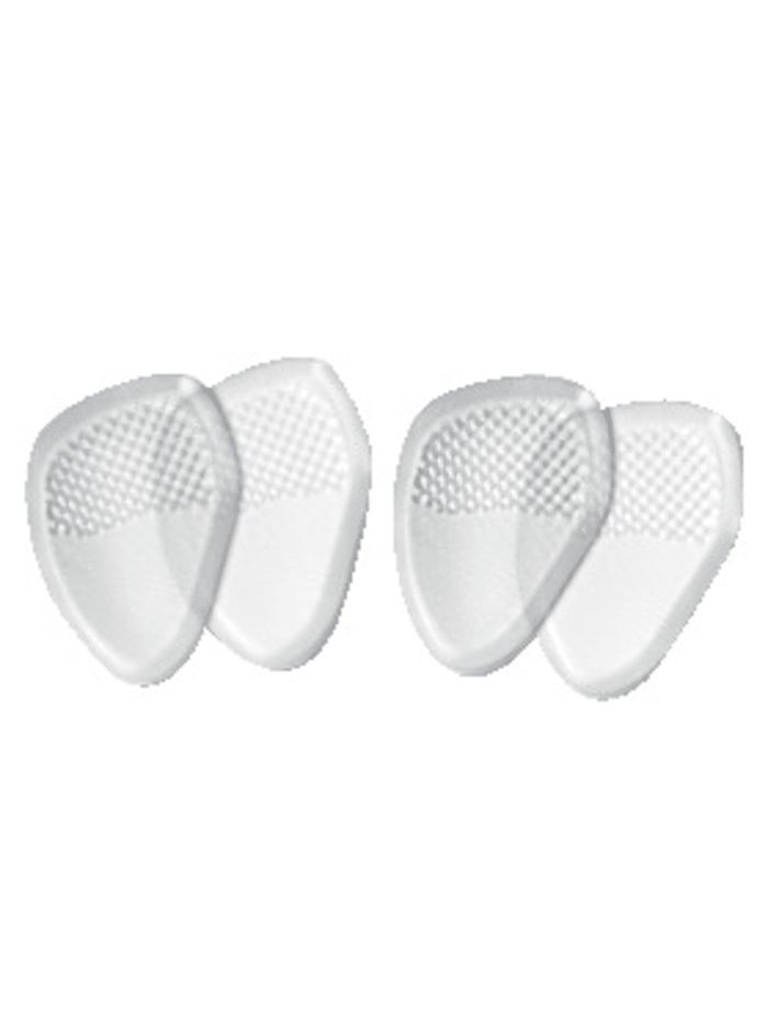 FußGut Gélové vložky do topánok 2 páry, biela