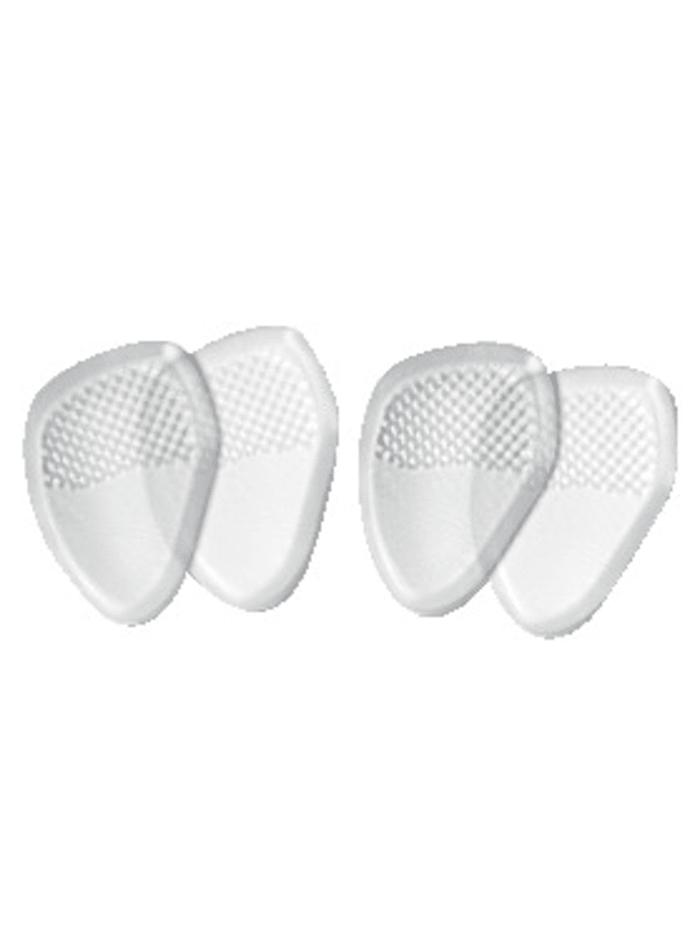 FußGut Pads voor de bal van de voet 2 paar, wit