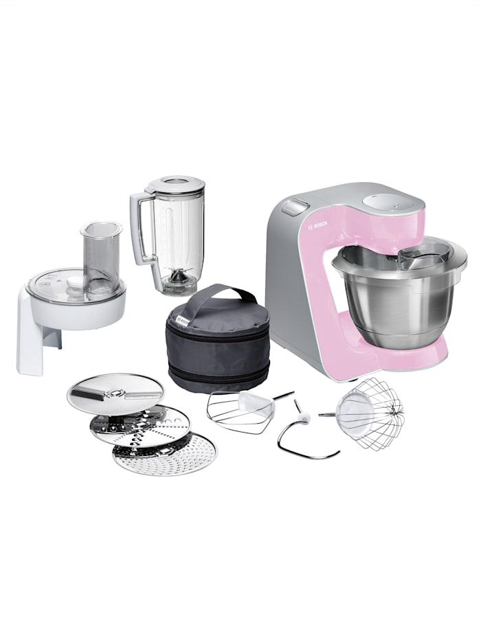Bosch Universal-Küchenmaschine MUM58K20, gentle pink/silber