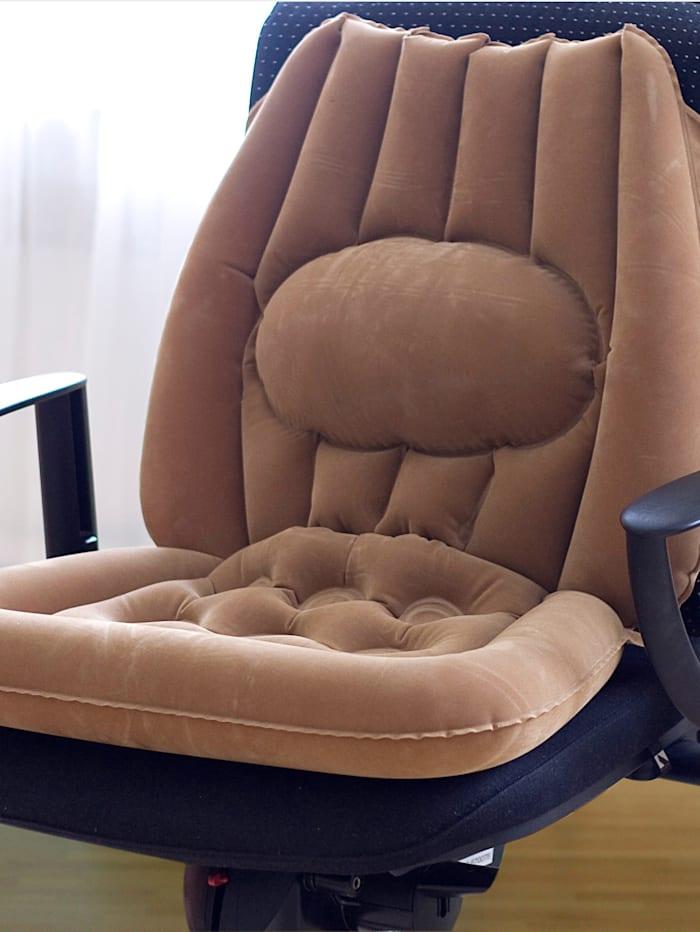 GHZ Sitzkissen - aufblasbar, beige