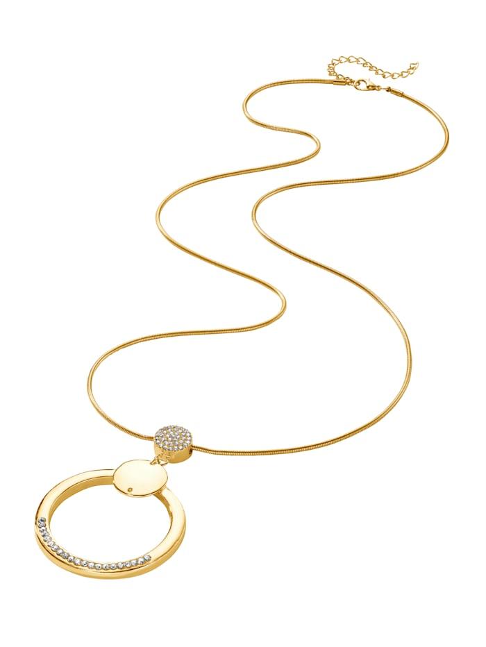 KLiNGEL Halskette, Gelbgoldfarben