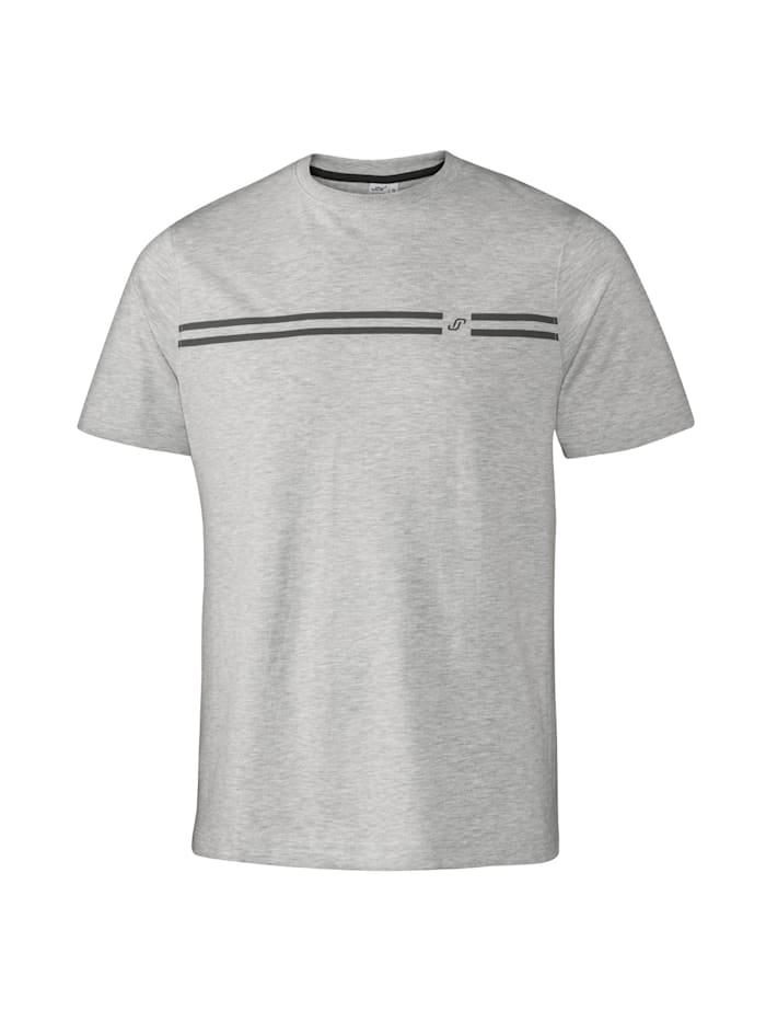 JOY sportswear T-Shirt JASPER, titan melange