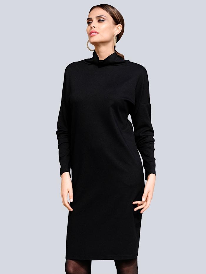 Alba Moda Kleid aus trageangenehmer Jerseyware, Schwarz
