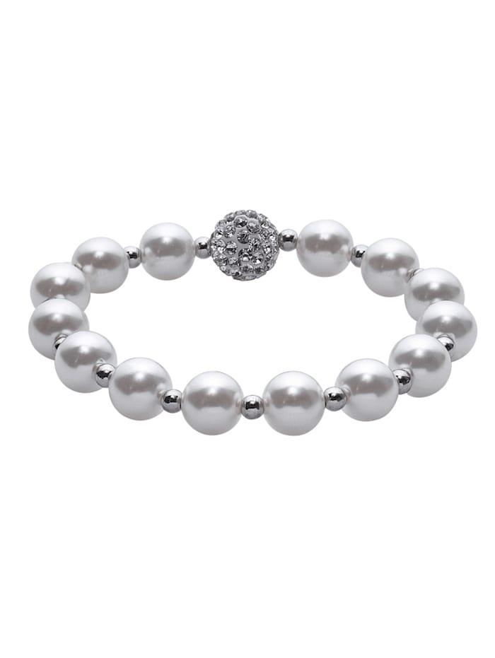 Armband mit synth. Perlen