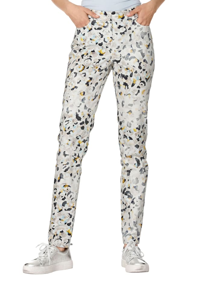 AMY VERMONT Hose mit Allover-Druck, Multicolor