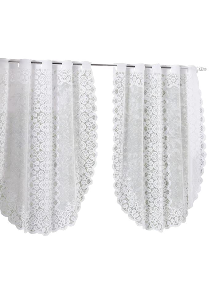 Webschatz Fenster- und Türbehang 'Keira', Weiß