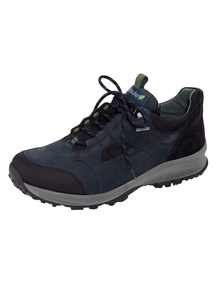 Waldläufer Trekkingschuh mit atmungsaktiver Klimamembrane, Blau