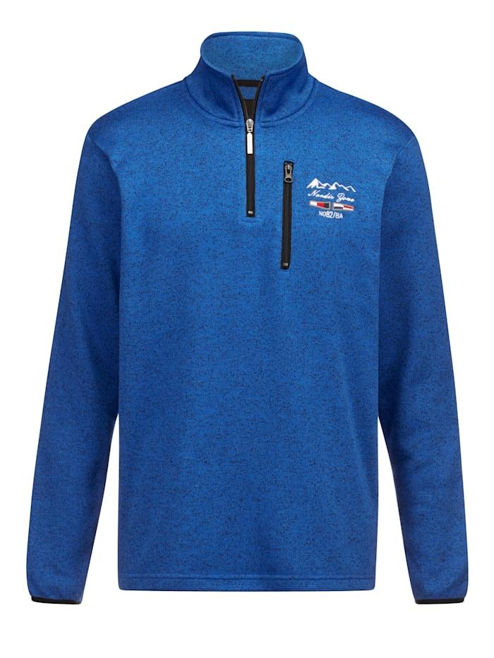 BABISTA Sweatshirt met zachte en warme binnenkant, Blauw