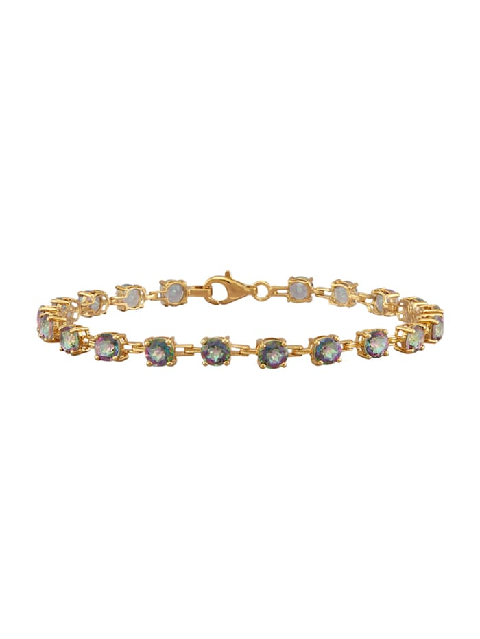 Bracelet en argent 925, Multicolore