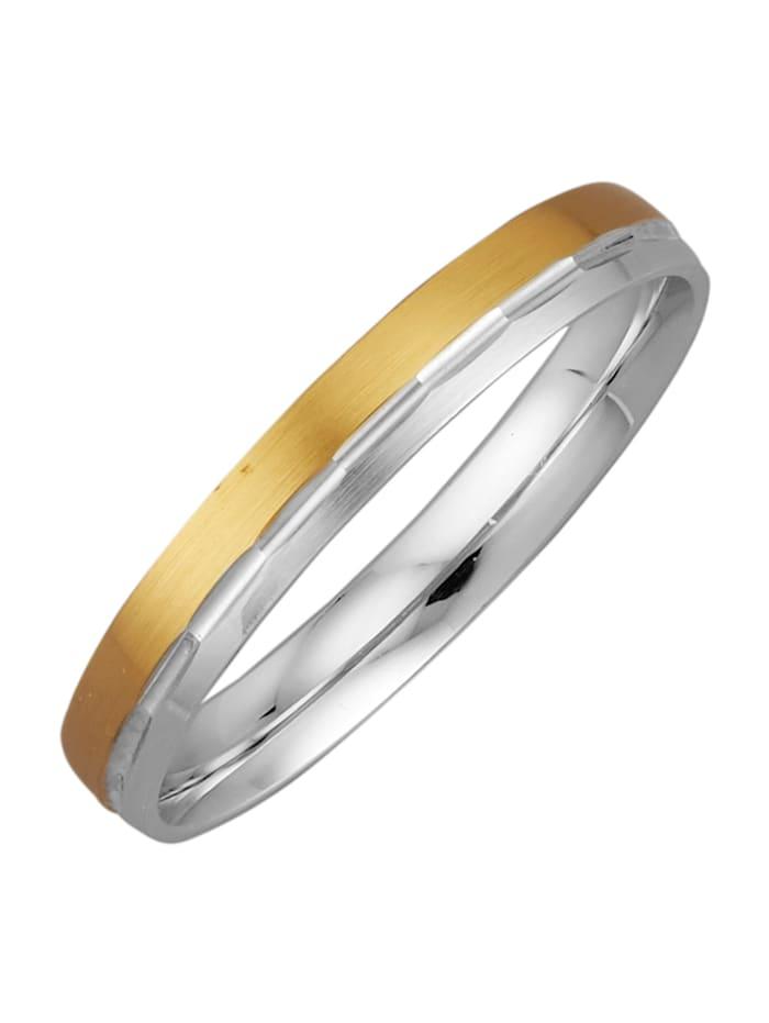 Harmony Förlovningsring, Guldfärgad/Vitguldfärgad