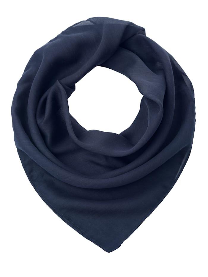 Paola Scarf i lätt och mjukt material, marinblå