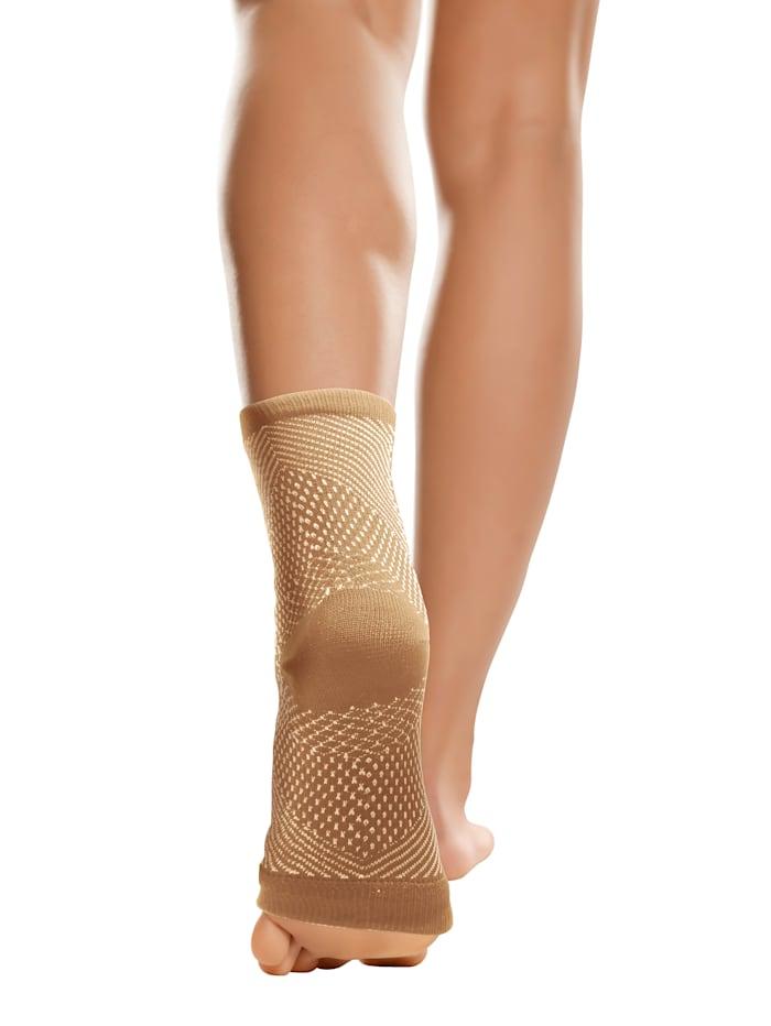 Smarttex Aktiv-Stützsocken -für müde und gestresste Füße, Beige