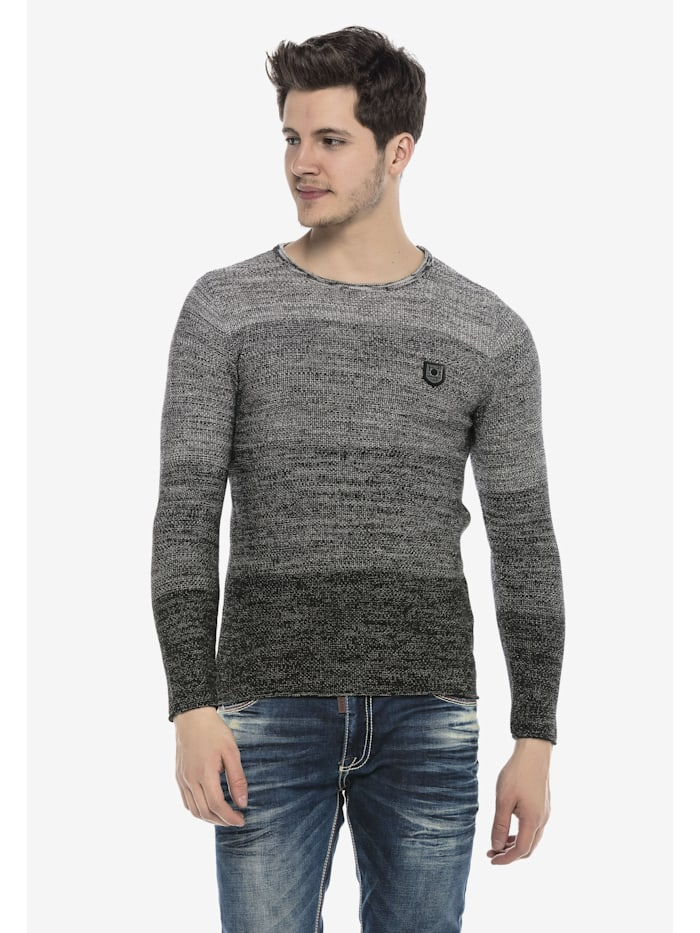 Pullover mit lässigem Rundhalsausschnitt