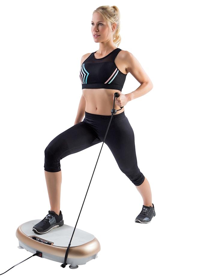 Plateforme vibrante pour tout le corps avec cordes de tension VITALmaxx