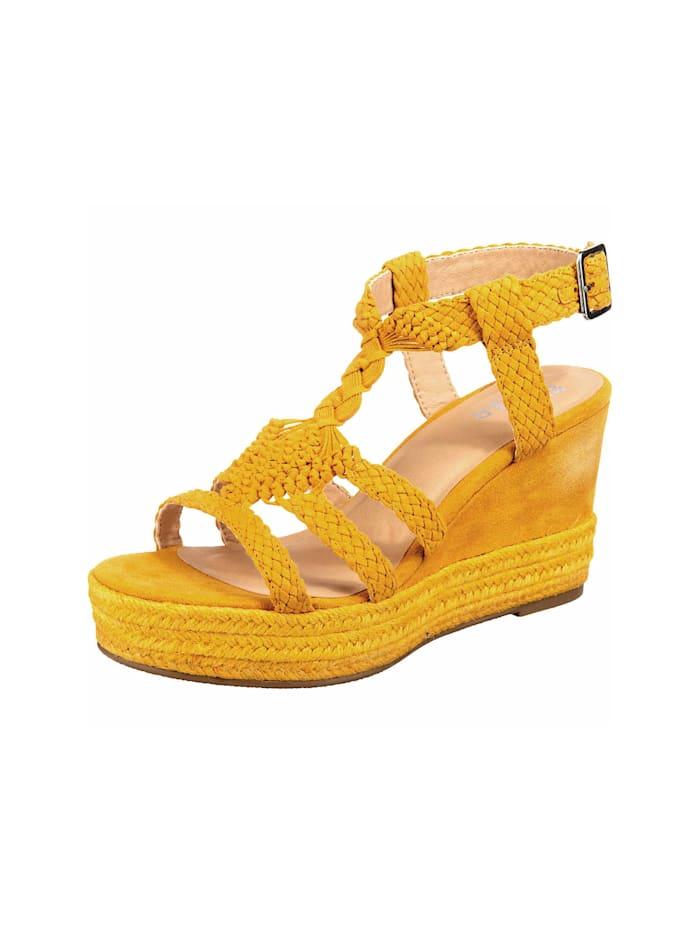 Bullboxer Sandalen/Sandaletten, gelb
