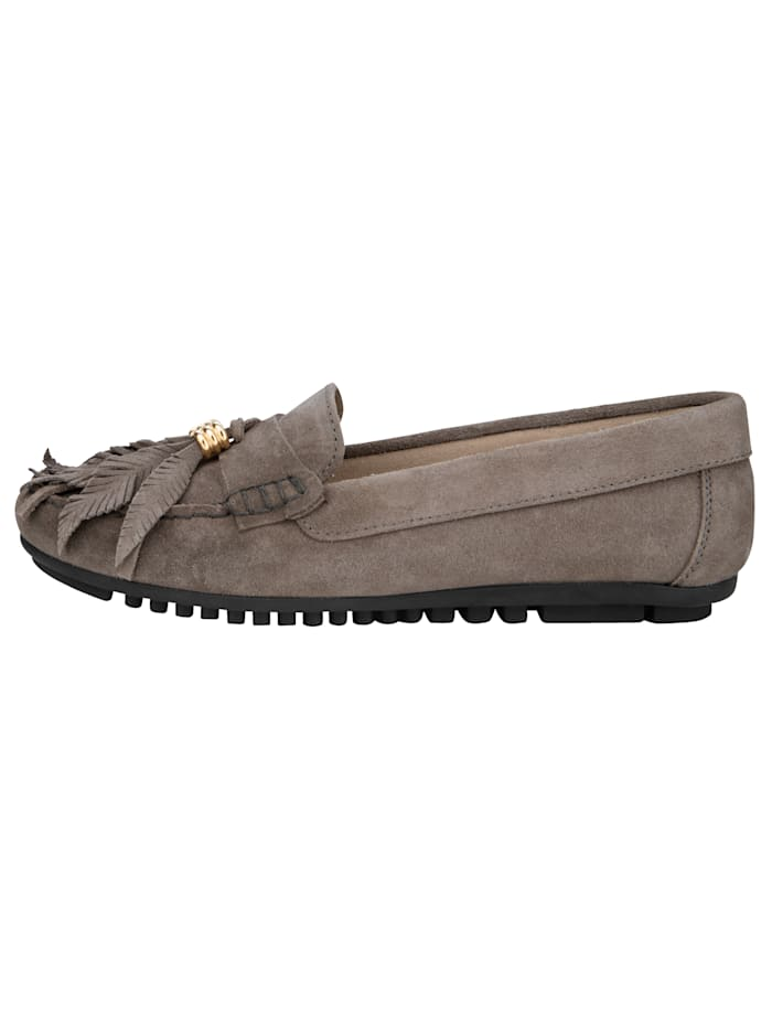 Moccasins made of fine suede