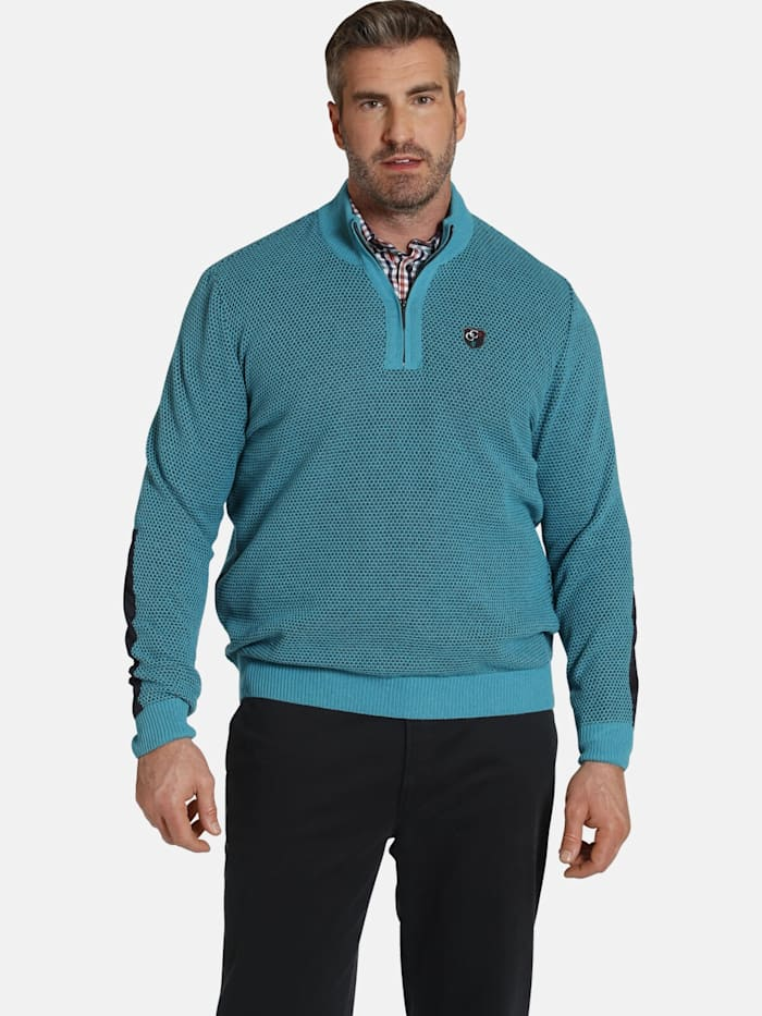 Charles Colby Charles Colby Pullover EARL RHYGIFARCH, petrol