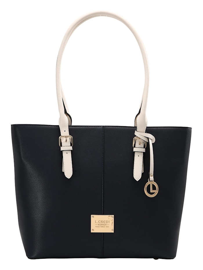 L.Credi Shopper Ginger Shopper, marine