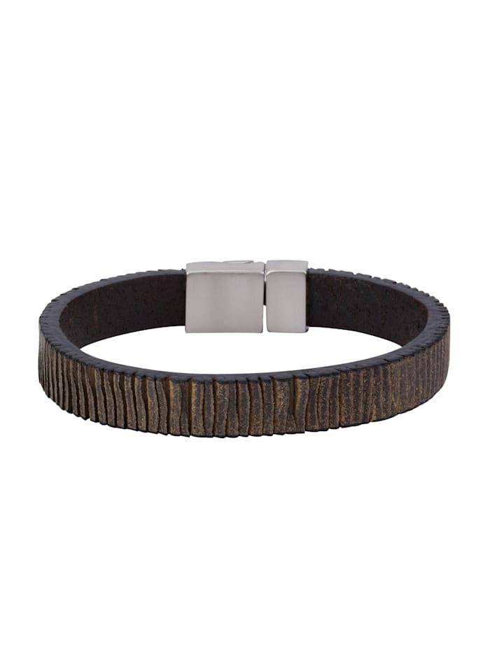 Armband Edelstahl 21cm Glänzend