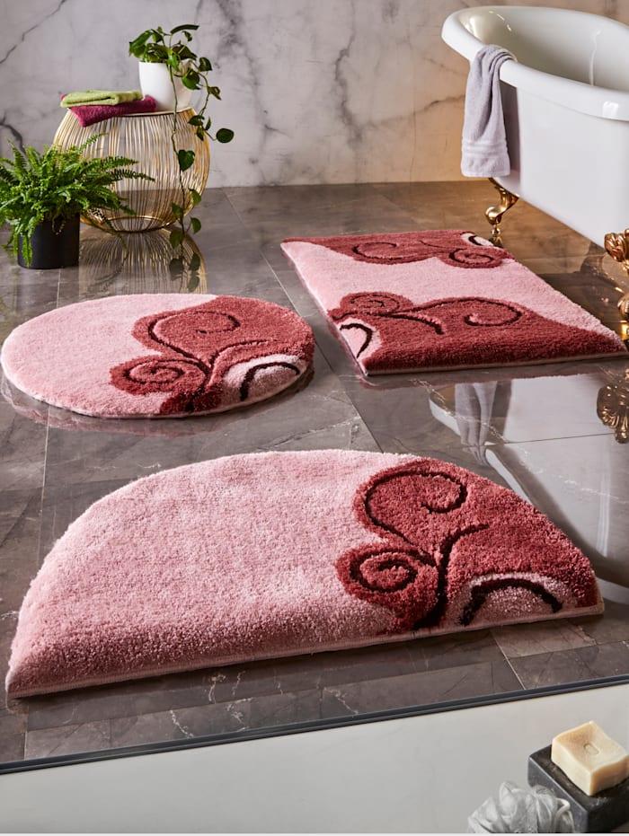 Webschatz Kylpyhuoneen matto, roosa