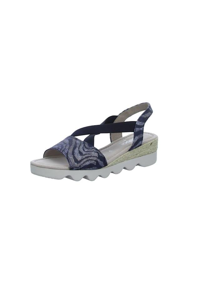Gabor Sandale, blau