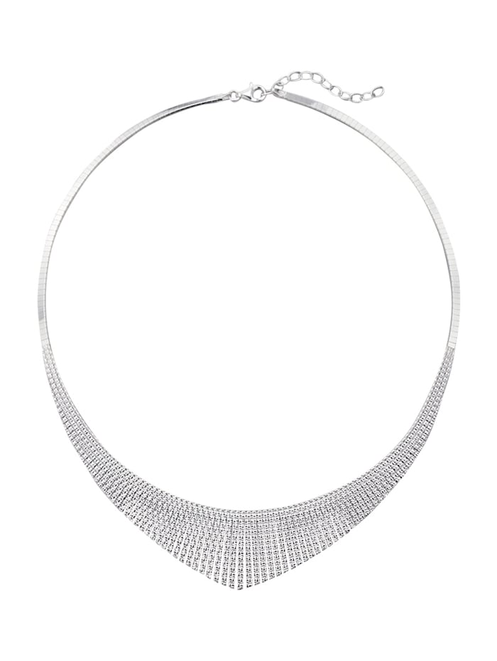 Diemer Trend Collier, Zilverkleur
