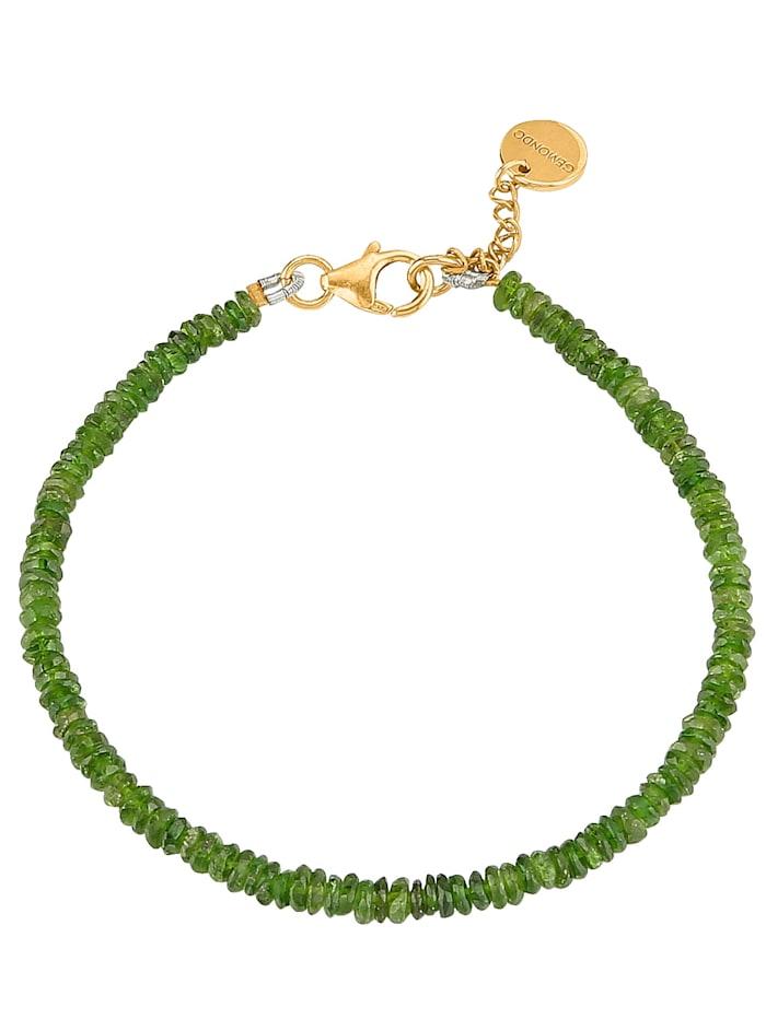 Gemondo Armband mit Chromdiopsid, Grün