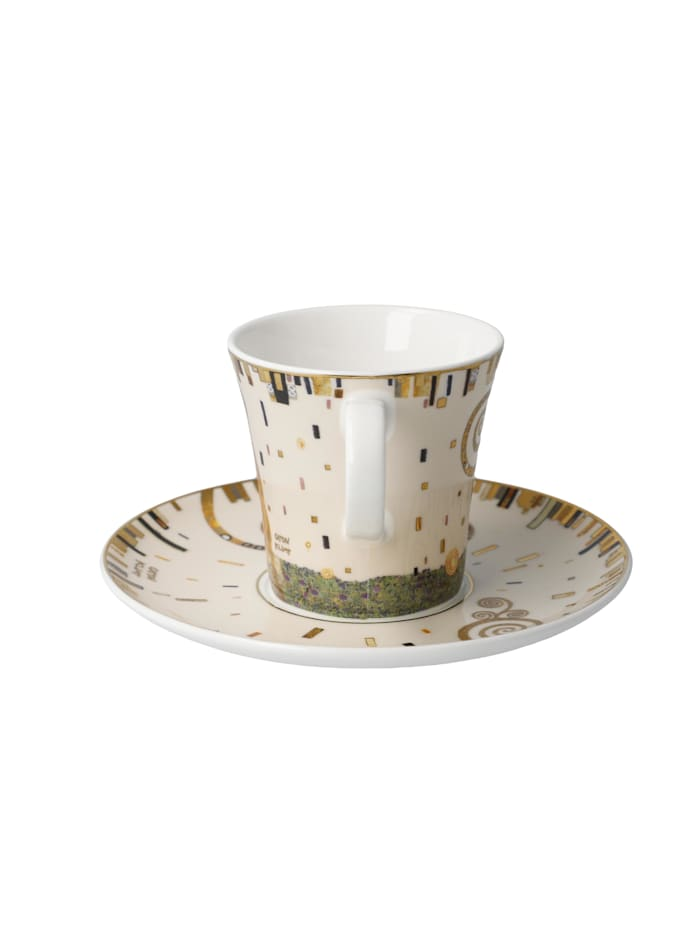 Goebel Kaffeetasse Gustav Klimt - Der Kuss