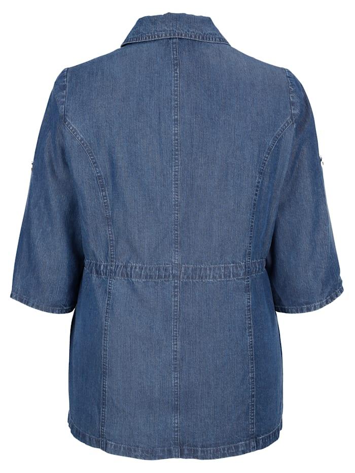 Blusenjacke in Tencel-Qualität