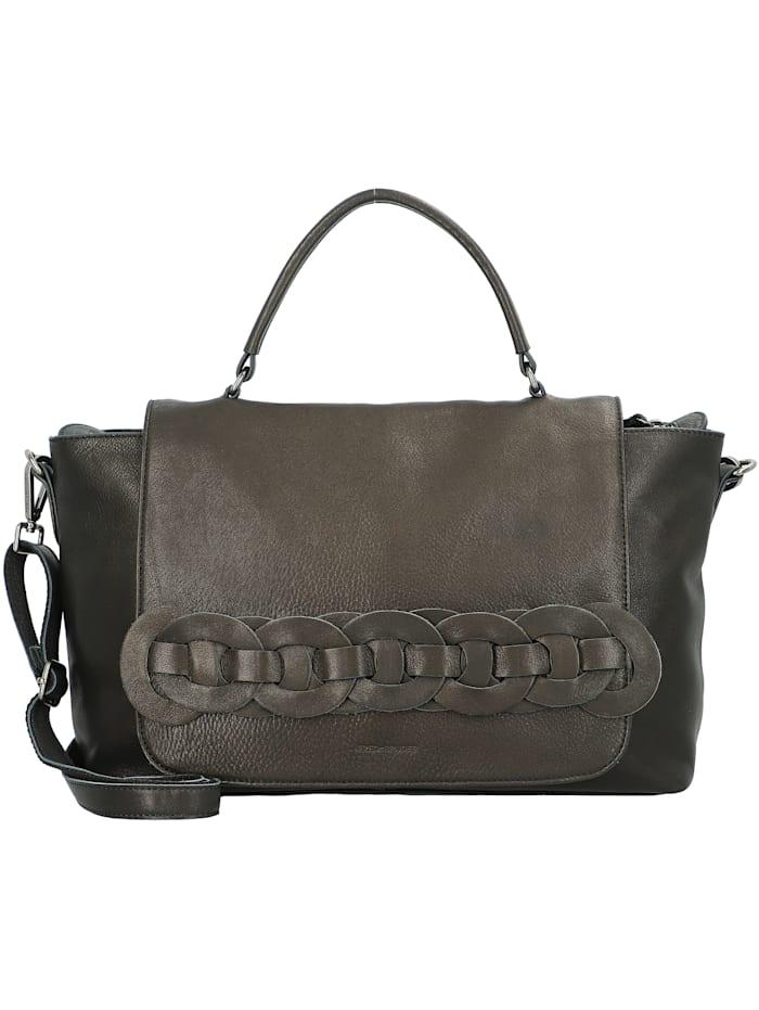 FredsBruder Chica Handtasche Leder 36 cm, black