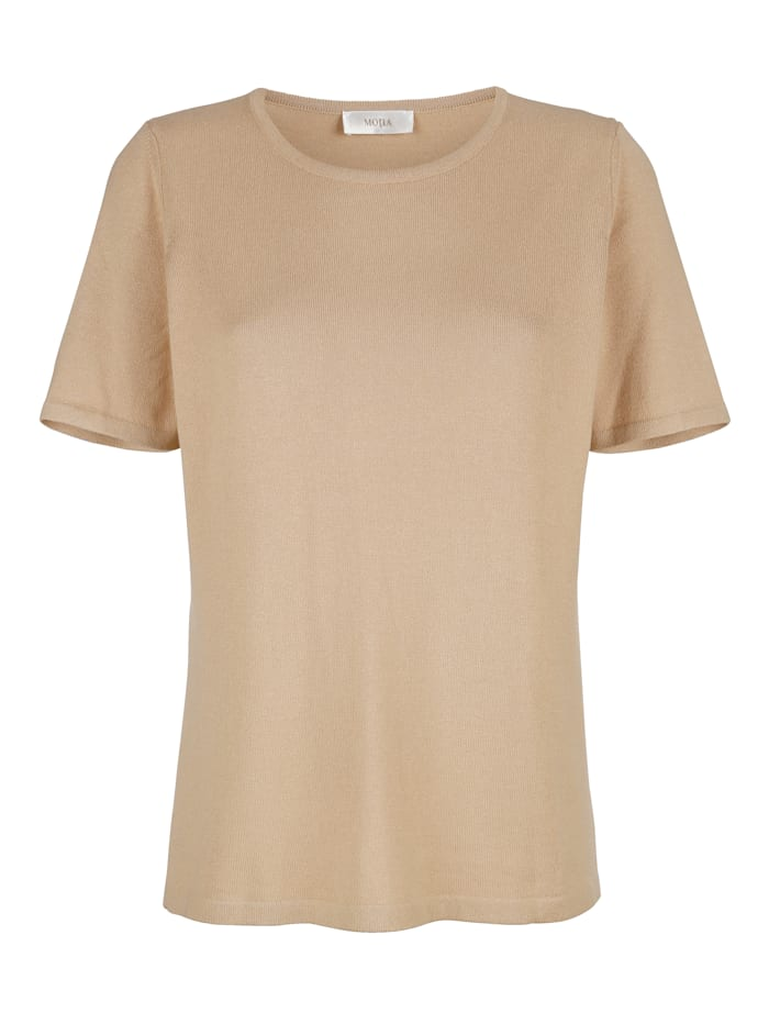 Pullover in T-Shirt-Form