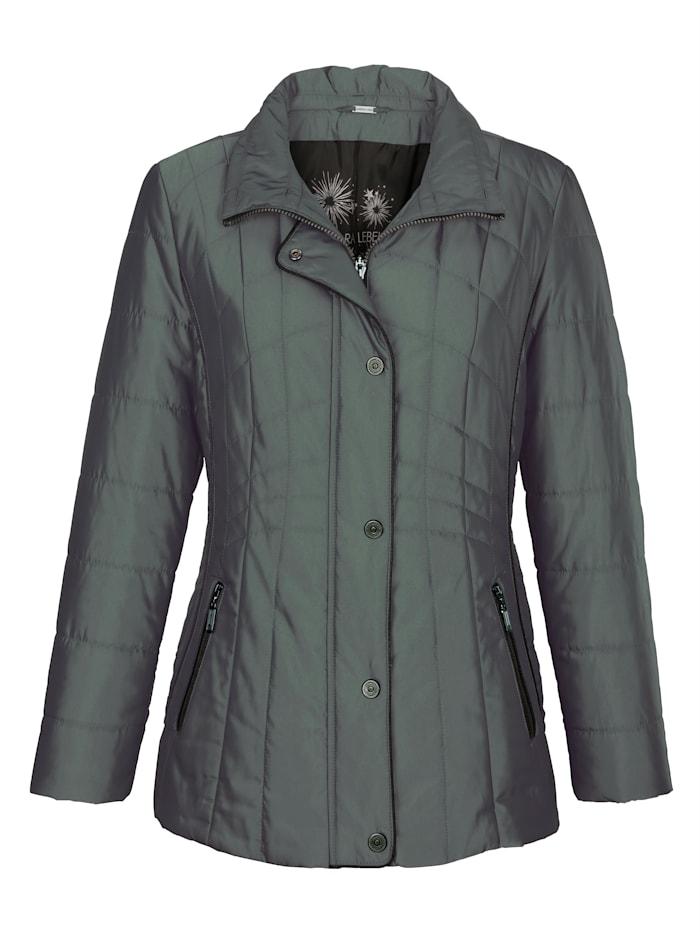 Jacke mit changierendem Glanz
